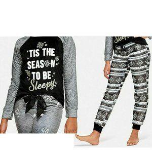 Justice Girls Sleepy Separates Pajama Set
